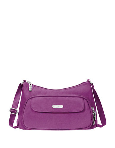Baggallini Everyday Water-Resistant Crossbody Bag-MAGENTA-One Size