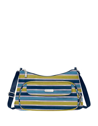Baggallini Everyday Water-Resistant Crossbody Bag-BLUE-One Size