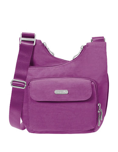 Baggallini Crisscross Crossbody Bag-MAGENTA-One Size