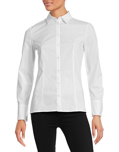 Hugo Etrixe1 Blouse-WHITE-EUR 42/US 10