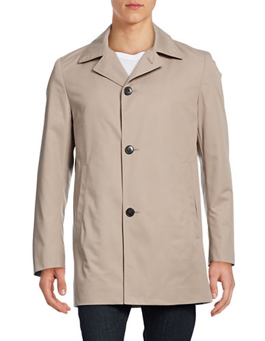 Hugo Dais6 Overcoat-MEDIUM BEIGE-42