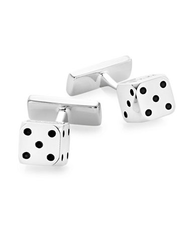 Hugo Silver Dice Cufflinks-SILVER-One Size