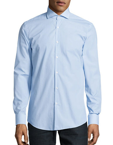 Hugo C-Jason Slim-Fit Sport Shirt-LIGHT BLUE-EU 39/US 15.5