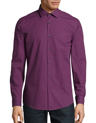 Hugo C-Jenno Slim Fit Shirt-MEDIUM PURPLE-EU 38/US 15