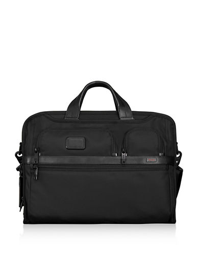 Miscellaneous Compact Laptop Brief Case-BLACK-One Size