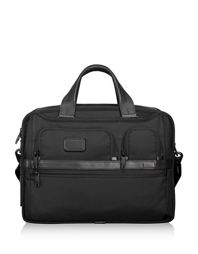 Miscellaneous Commuter Briefcase-BLACK-One Size