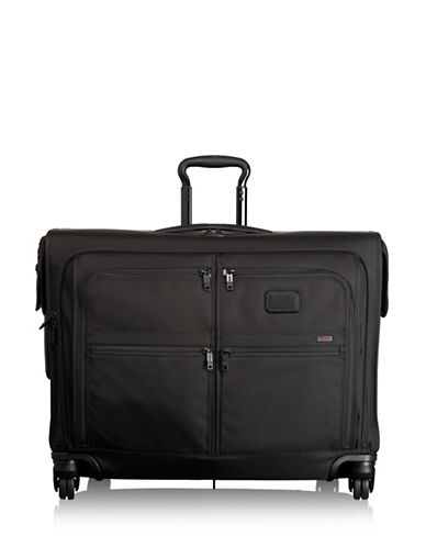 Tumi Alpha 2 Four-Wheel Mid Trip Garment Bag-BLACK-20