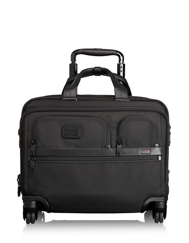 Tumi Alpha 2 Deluxe Brief Spinner Carry-On-BLACK-18
