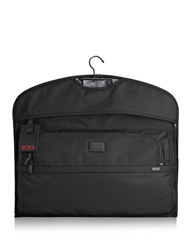 Tumi Alpha 2 Leather Blend Garment Cover-BLACK-21