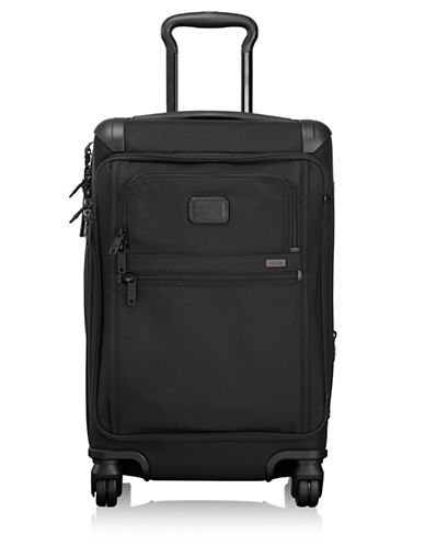 Tumi Front Lid International Carry-On Trolley Bag-BLACK-One Size