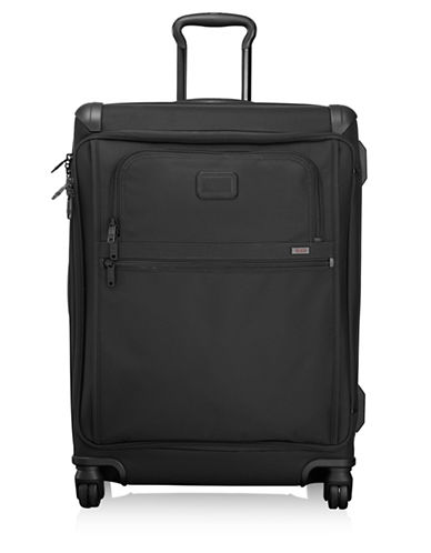 Tumi Front Lid Short Trip Packing Case Trolley Bag-BLACK-One Size