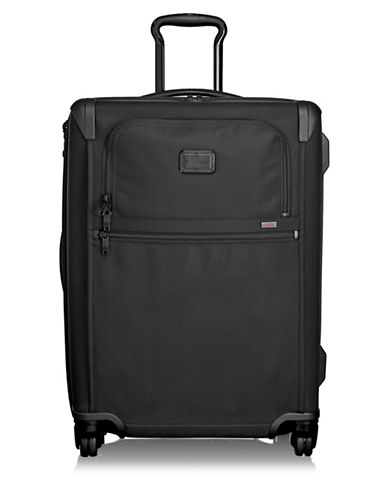 Tumi Short Trip Expandable 4-Wheel Packing Case Trolley Bag-BLACK-26