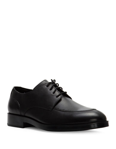 Cole Haan Henry Grand Leather Oxfords-BLACK-8.5