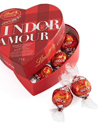 Lindt Romance Milk Chocolate Heart Gift Box-NO COLOR-One Size