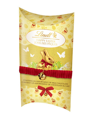 Lindt Mini Gold Bunny Milk Chocolate Assortment Gift Pouch-NO COLOUR-One Size