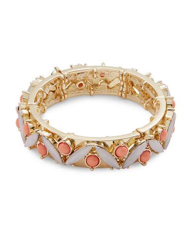 R.J. Graziano Marquis Stretch Bracelet-CORAL-One Size
