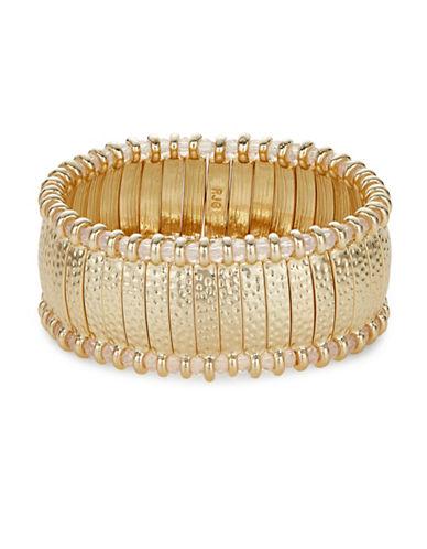 R.J. Graziano Ladder Bracelet-GOLD-One Size