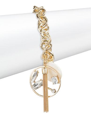 R.J. Graziano Charm Chain Bracelet-GOLD-One Size