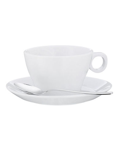 Wmf Barista Cappuccino Cup and Saucer-WHITE-One Size 84662895_WHITE_One Size