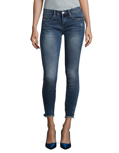 Blank Nyc Raw Hem Skinny Jeans-FACTORY GIRL-31