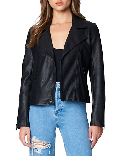 Blank Nyc Moto Jacket-ONYX-Small