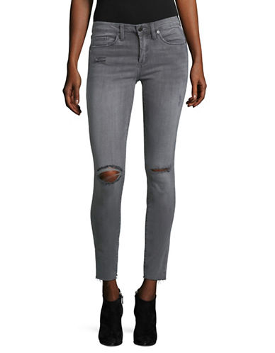 Blank Nyc Ripped Ankle Jeans-GREY-31