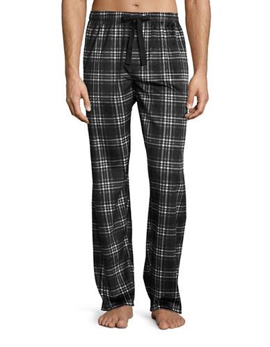 Izod Soft Touch Fleece Sleep Pants-GREY-Medium 88577578_GREY_Medium