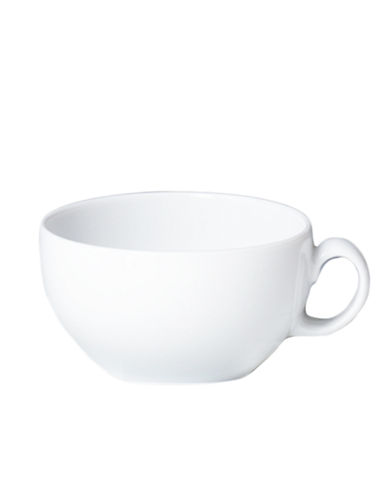 Denby White Tea Cup-WHITE-One Size