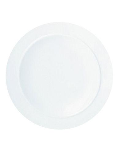 Denby White Dessert Salad Plate-WHITE-One Size