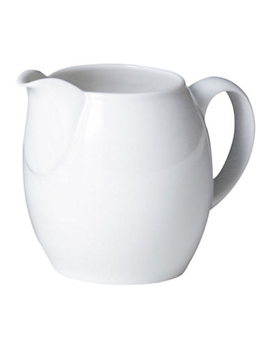 Denby White Small Jug Creamer-WHITE-One Size