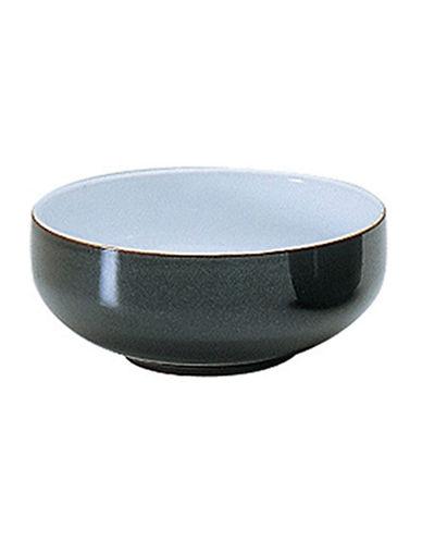 Denby Jet Grey Soup Cereal Bowl-BLACK-One Size