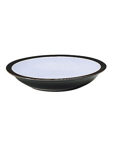 Denby Jet Rim Soup Bowl-BLACK-One Size