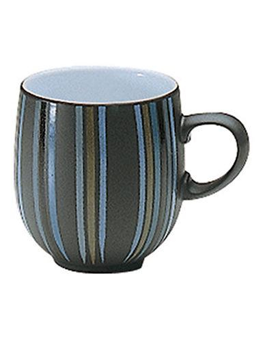 Denby Jet Stripes Large Curve Mug-STRIPES/WHITE-One Size