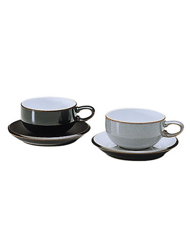 Denby Jet Black Tea Coffee Cup-BLACK-One Size