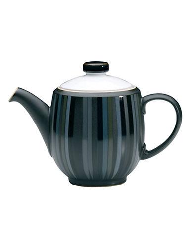 Denby Jet Stripes Teapot-STRIPES/WHITE-One Size