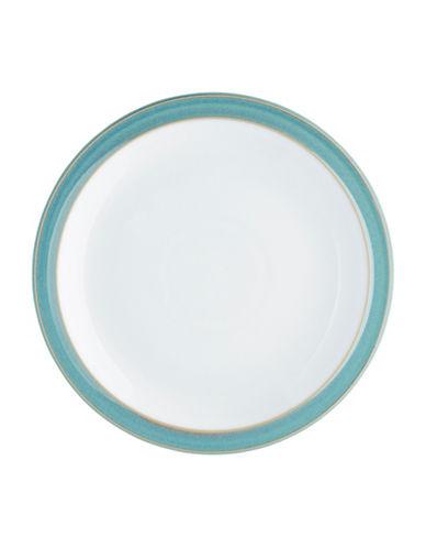 Denby Azure Stoneware Dessert Salad Plate-AQUAMARINE-One Size