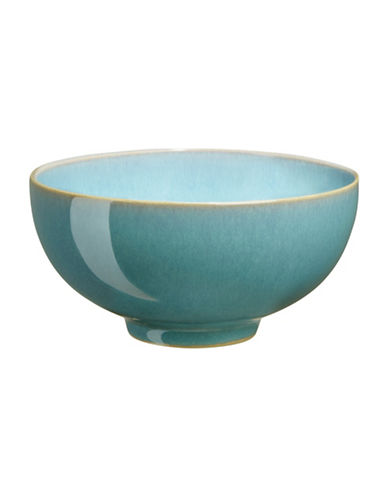Denby Azure Stoneware Fruit Rice Bowl-AQUAMARINE-5 Inches