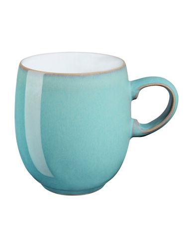 Denby Azure Stoneware Large Curve Mug-AQUAMARINE-One Size