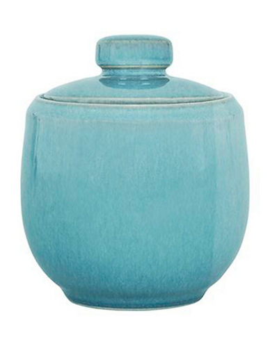 Denby Azure Stoneware Covered Sugar Bowl-BLUE-One Size