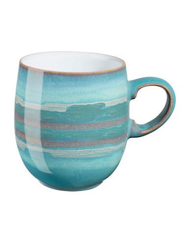 Denby Azure Coast Stoneware Large Curve Mug-COAST/WHITE-One Size
