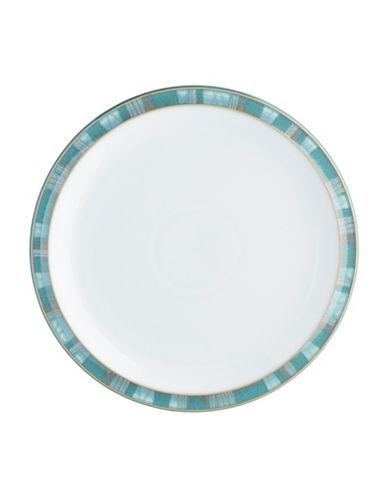 Denby Azure Coast Stoneware Dessert Salad Plate-COAST/WHITE-One Size