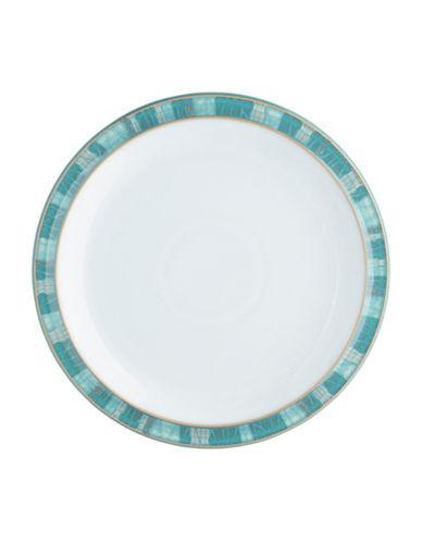 Denby Azure Coast Stoneware Dinner Plate-COAST/WHITE-One Size