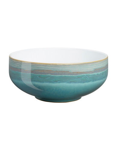 Denby Azure Coast Stoneware Soup Cereal Bowl-COAST/WHITE-One Size