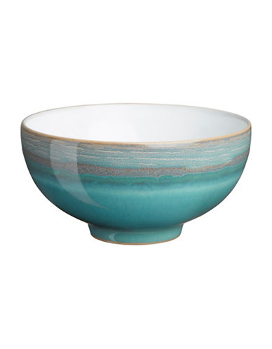 Denby Azure Coast Stoneware Fruit Rice Bowl-COAST/WHITE-5 Inches