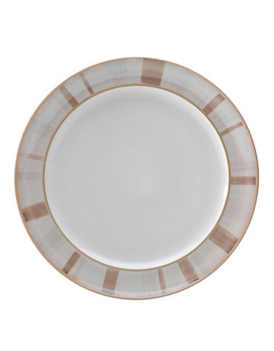 Denby Truffle Layers Wide Rimmed Dinner Plate-TRUFFLE LAYERS/WHITE-One Size