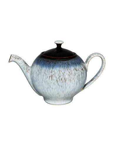 Denby Halo Stoneware Teapot-HALO ACCENT / BLACK-One Size