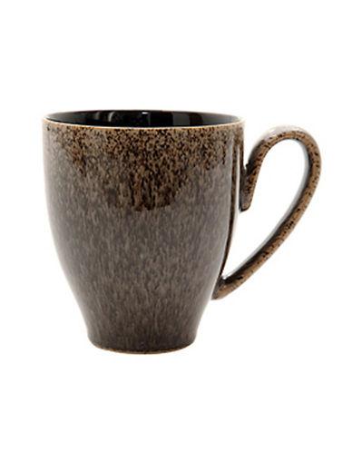 Denby Praline Stoneware Large Mug-BROWN SPECKLE-One Size