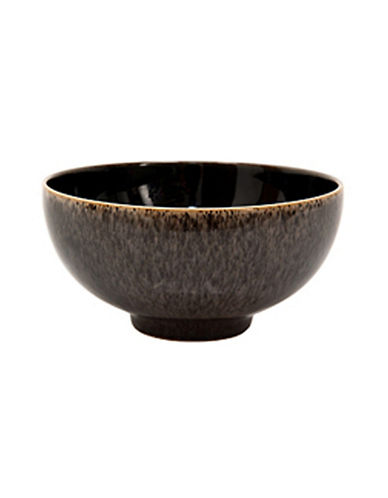 Denby Praline Stoneware Rice Bowl-BROWN SPECKLE-5 Inches