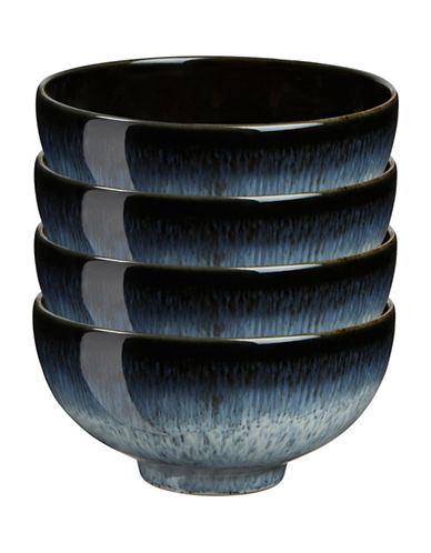 Denby Set of Four Halo Rice Bowls-BLUE-One Size