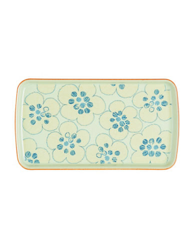 Denby Orchard Accent Rectangle Plate-MULTI-COLOURED-One Size